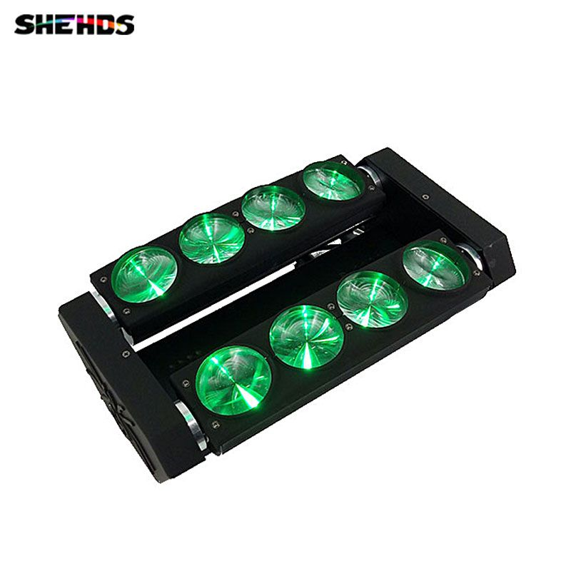 8x10W 4in1 LED spider light Led Moving Head Beam Wash Spot Light Dj Disco Club Party Wedding Stage Effect...