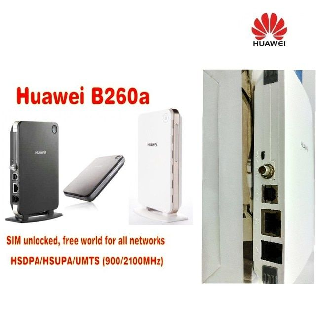 Lot of 10pcs huawei B260a GSM/GPRS/EDGE 3g router,DHL shipping