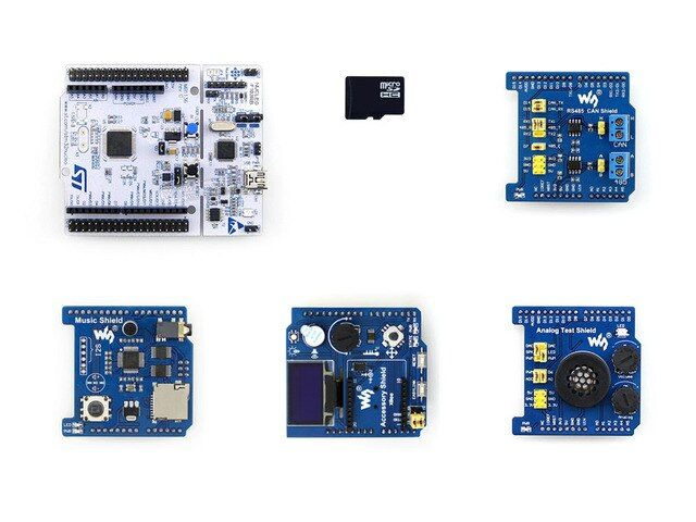 ARM STM32 NUCLEO-F103RB Package B ST Official STM32 Nucleo Board Support And ST Morpho Headers