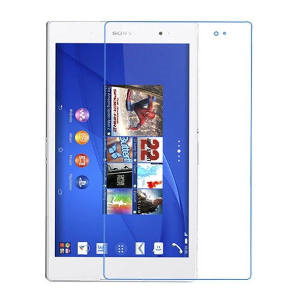 Ultra Clear HD Front LCD glossy Screen Protector Screen protective Film For Sony Xperia Z3 Tablet Compact SGP621 8 inch Tablet