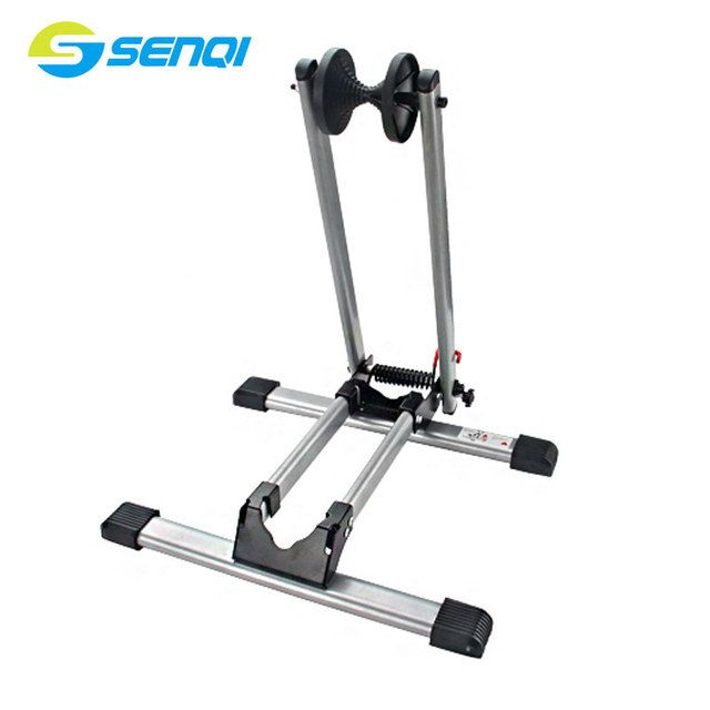 Foldable Bicycle Parking Frame Steel Mountain Bike Maintenance Support Road Bike Display Stand Bicycle Racks FZT018