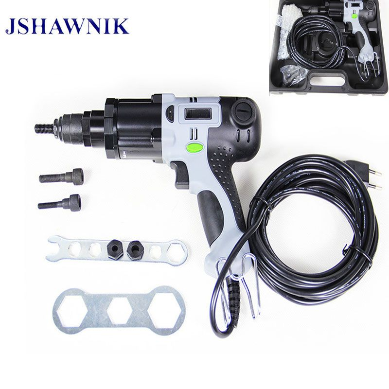 M6/M8/M10  Electrical Rivet Nut Gun Electrical Riveting Tool Electrical Riveter Gun Electric Rivet Tool With Suitcase