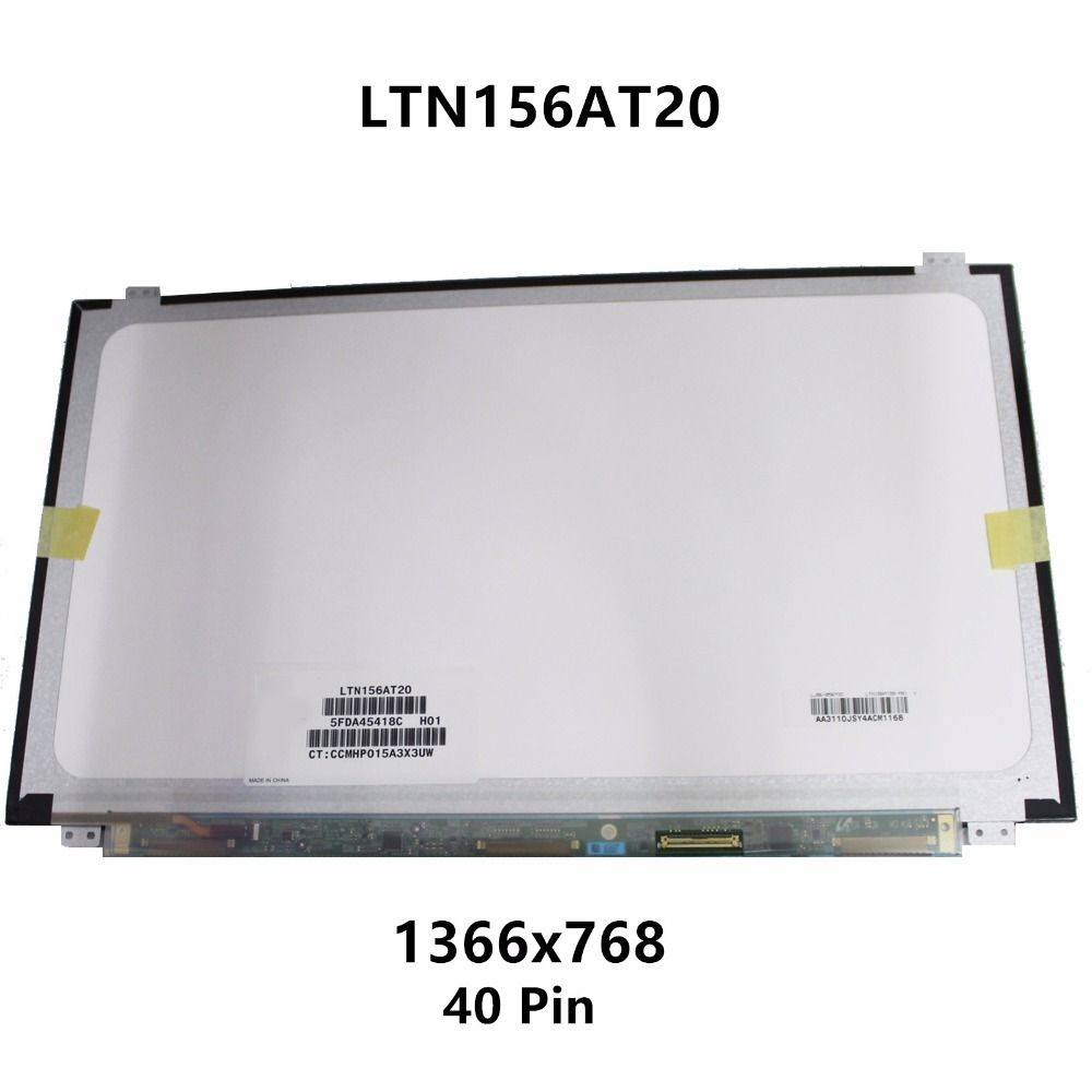 15.6'' Laptop LCD Screen Display Matrix Panel Replacement LTN156AT20-P01 LTN156AT20-001 For ASUS X502CA X502C X502CA-TS31 RB01