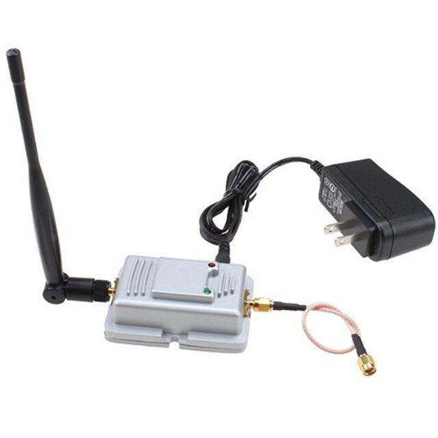 2.4GHz Wi-Fi Wireless LAN Broadband Amplifier Router Power Range Signal Booster with LED Indicator DY-fly