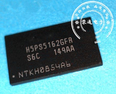 5pcs/lot Free shipping H5PS5162GFR-S6C H5PS5162GFR laptop p offen use p new original