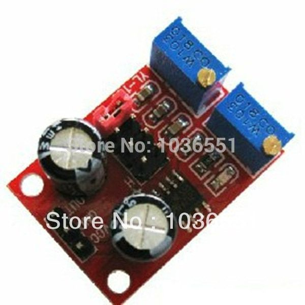 5pcs/lot NE555 Pulse frequency Adjustable Module Singal generator stepper motor Driver for Arduino