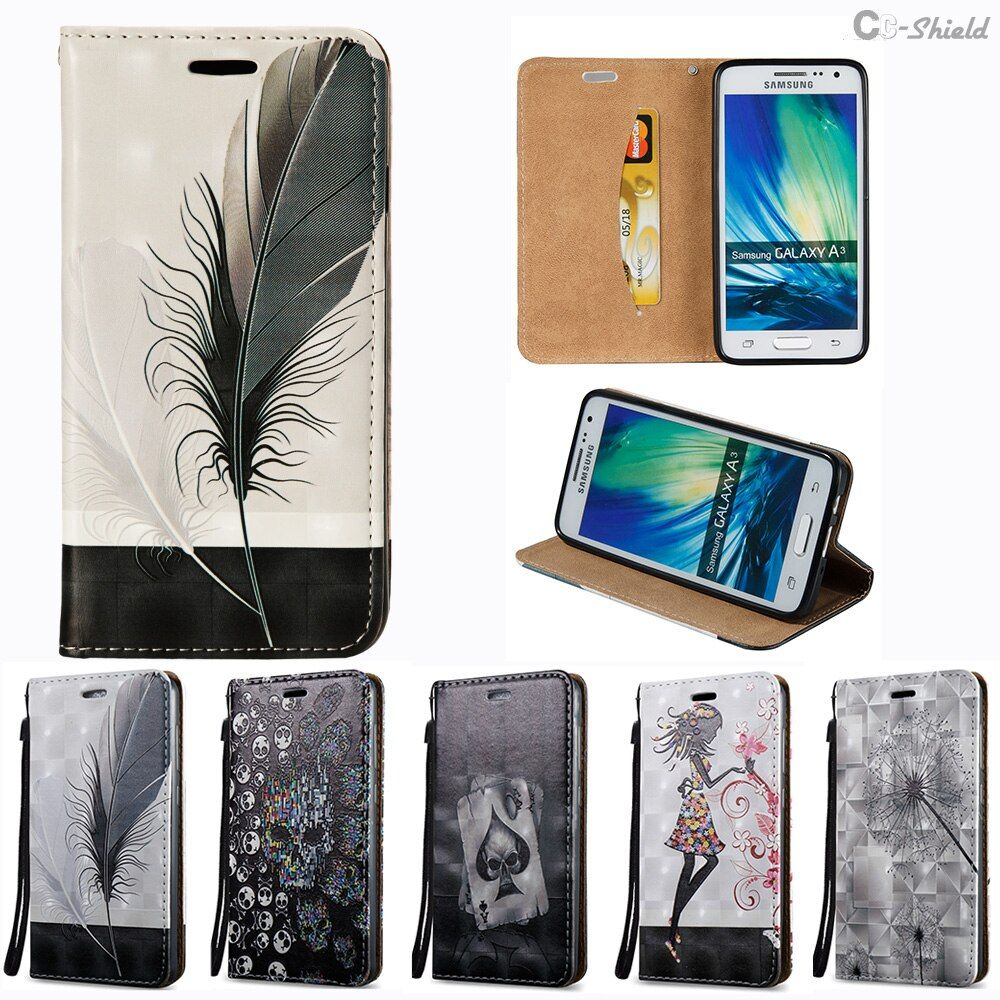 Flip Case for Samsung Galaxy A3 2015 A300 A300F A300FU A300H/DS Leather Cover for Samsung A 3 300 SM-A300H/DS SM-A300F SM-A300FU