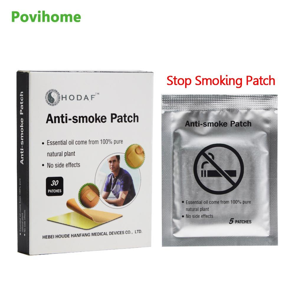 30 Patches 100% Natural Ingredient Stop Smoking &Anti Smoke Patch for Smoking Cessation Patch to Give Up Smoking C744