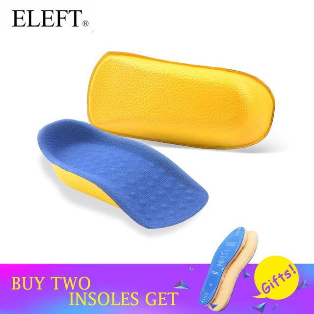 ELEFT 1 pair Height increased insoles 2.0 cm lift taller in sock arch support  PU pads elevator for women men shoes foot care