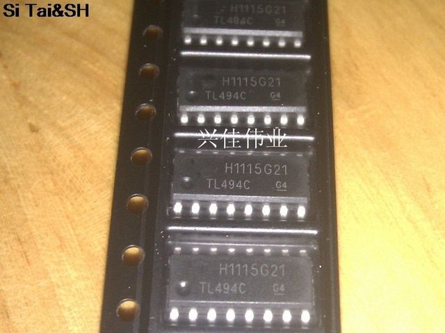 5pcs/lot  TL494 TL494C TL494CDR SOP-16 Original and new IC