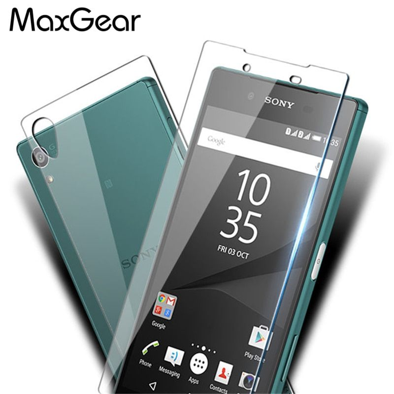 Front +Back Tempered Glass for Sony Xperia Z1 Z2 Z3 Z4 Z5 Screen Protector Film for Xperia Z5 / Z5 Compact /Z5 Premium