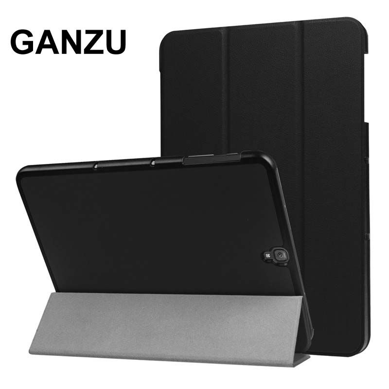 For Samsung Galaxy Tab s3 9.7 Case PU Leather Cover For Sansung SM-T820 SM-T825 SM-T819 T820 T825 Folding Stand Protective Case