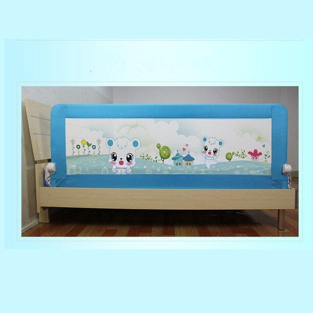 150*68cm Foldable safety toddler bed rail
