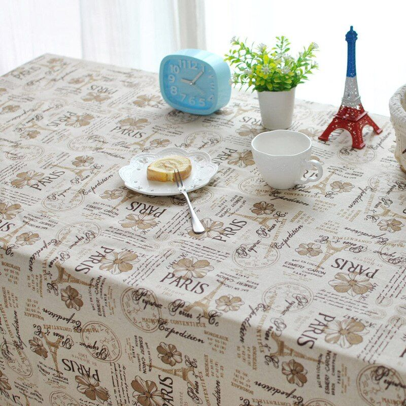 European classical British style cafe table cloth tablecloths home universal cover cloth