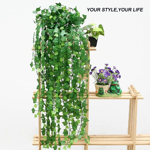 New 8.2 Feet Artificial Ivy Leaves Flower Vine Home Decor Party Wedding Decoration Mariage Fake Artificial Plants