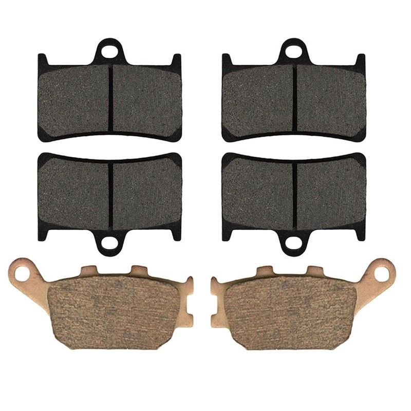 Motorcycle Front and Rear Brake Pads for YAMAHA YZF R1 (5CW) / YZFR1 (5VY) 2004-2006 Brake Disc Pad