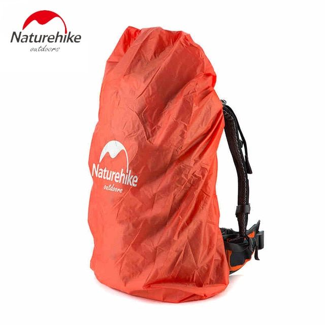 Naturehike Backpack Rain Cover Outdoor Waterproof Mud Dust Cover Bag Covering Climbing Hiking Travel Kit Fit For 30L-50L 50-75L