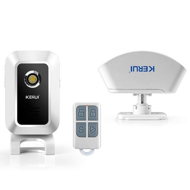 KERUI M7 Wireless 433MHz Doorbell / Welcome Alarm / Burglar / Night-Light , Remote Control to Control Modes for shop office CVS