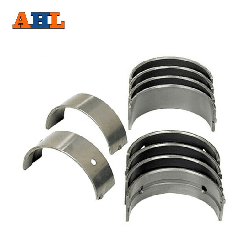 AHL 8pcs/set Motorcycle Engine Parts For Kawasaki ZZR600 QJ Benelli BJ 600 GS Oversize +100 Connecting Rod Crank shaft Bearing