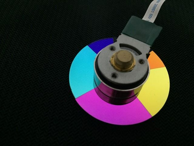Brand New Original DLP Projector Color Wheel For Panasonic D5500
