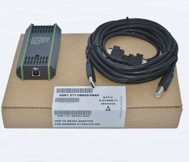 PC Adapter USB A2 Cable for Siemens S7-200/300/400 PLC DP PPI MPI Profibus 6GK 1571-0BA00-0AA0 with CD