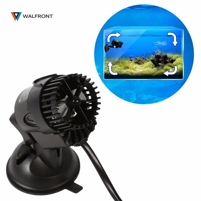 3W 110~240v Aquarium Circulation Pump Wave Maker Propeller Plug Control Master/Slave Pump For 80cm Below