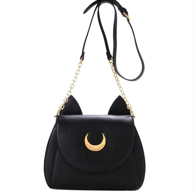 2017 Sailor Moon Women Handbags Leather Bag Ladies New Designer High Quality Bolsos Mujer Shoulder Tote Bags Messenger Bag