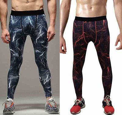 Mens Skinny Men Compression Tight Long basic Mallas Hombre Fitness Pant