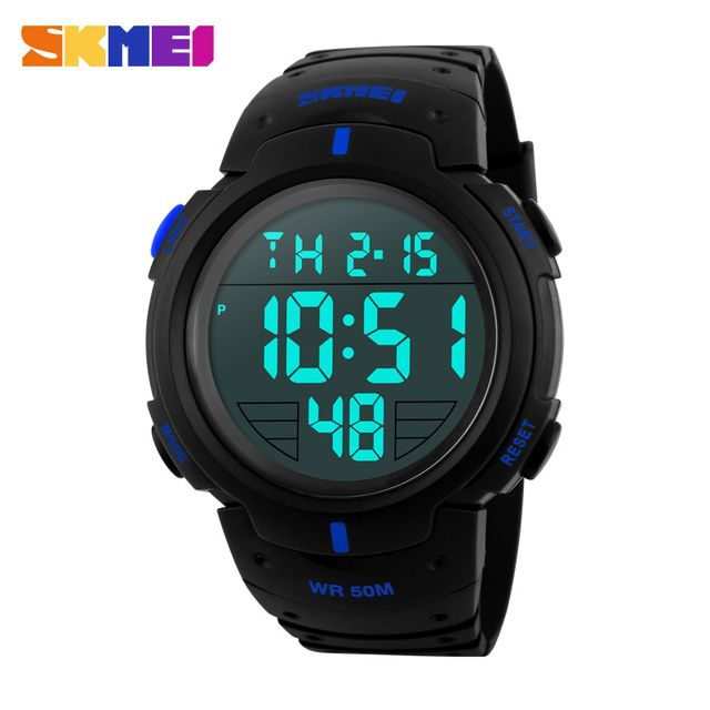 Top Brand Mens Digtial Watches Dive 50m Military Sports Led Watch Man Fashion Casual Electronic Wrist watches Relogio Masculino