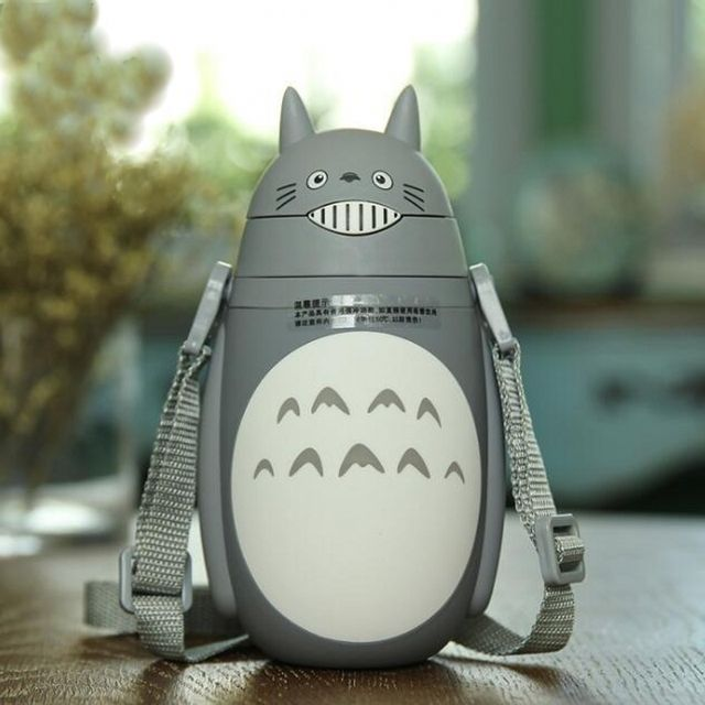 New Totoro water bottle insulation kettle children's cartoon drinkware friend gift