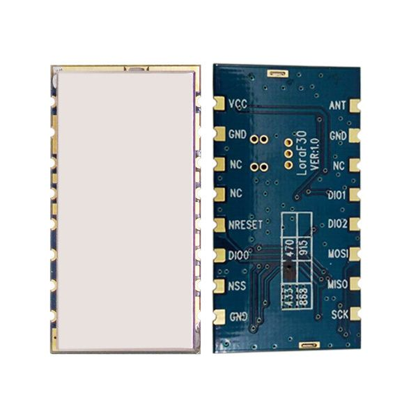 2pcs/lot Lora1278F30 - Long range 6~8Km high power 1W 433MHz | 470MHz SPI port RF Wireless Lora Module