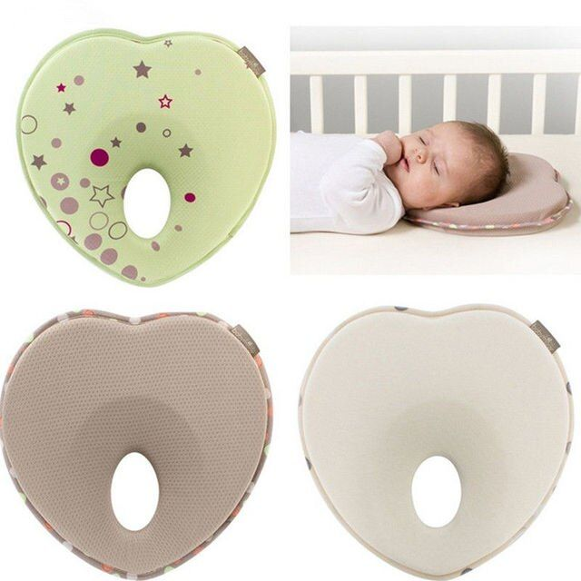 Baby Memory Foam Pillow Prevent Flat Head Infant Pillows Support Newborn Baby Anti-migraine Pillow Shape Kids Pillows #5
