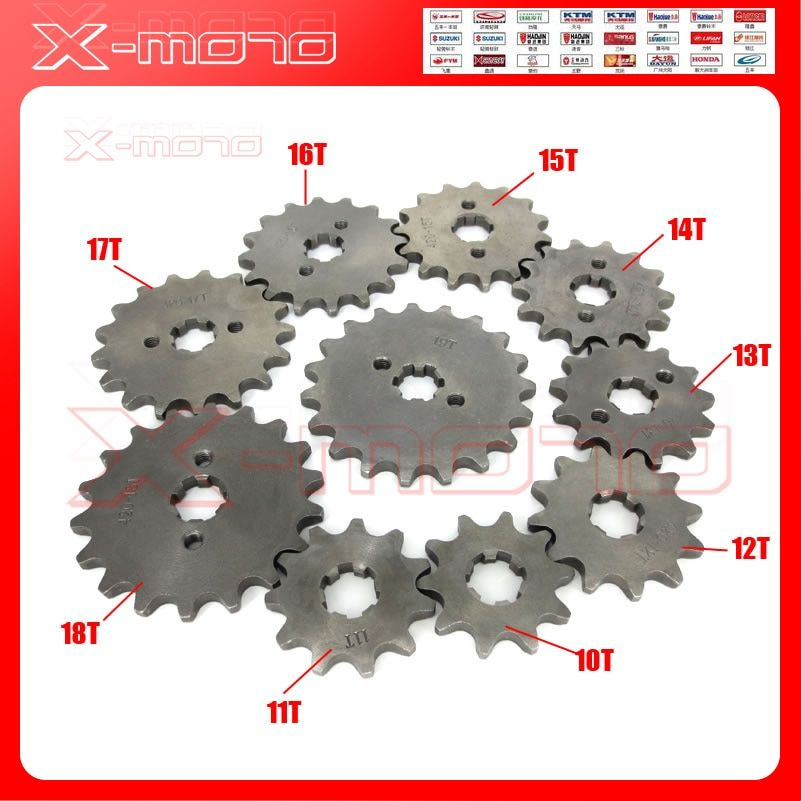 428 10-19 Tooth 20mm ID Front Engine Sprocket for Stomp YCF Upower Dirt Pit Bike ATV Quad Go Kart Moped Buggy Scooter Motorcycle