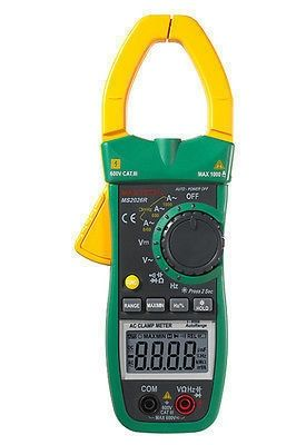 MS2026R 6000 Counts Digital AC Clamp Meter True RMS AC/DC Voltage Tester AC Current Detector Multimeter