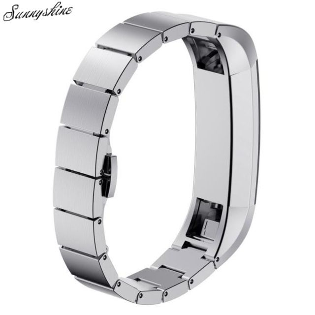 High Quality Stainless Steel Watch Band Wrist strap For Fitbit Alta Smart Watch wholesaleF3