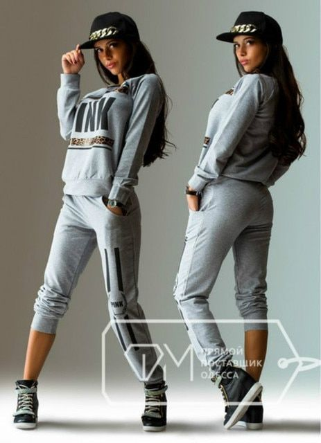 2016 spring women's tracksuit lady casual pull over long sleeve tops and pants loungewear XS-L