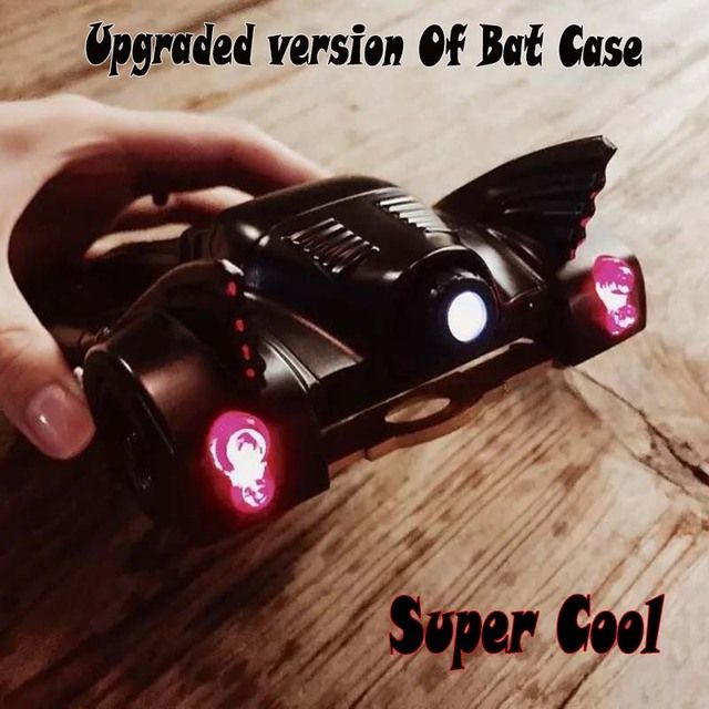 Limited upgraded version cool Coque Batmobile Battle Car bat Coolest protective Case For iPhone 8 7 Plus 7 6 6s plus Funda cover