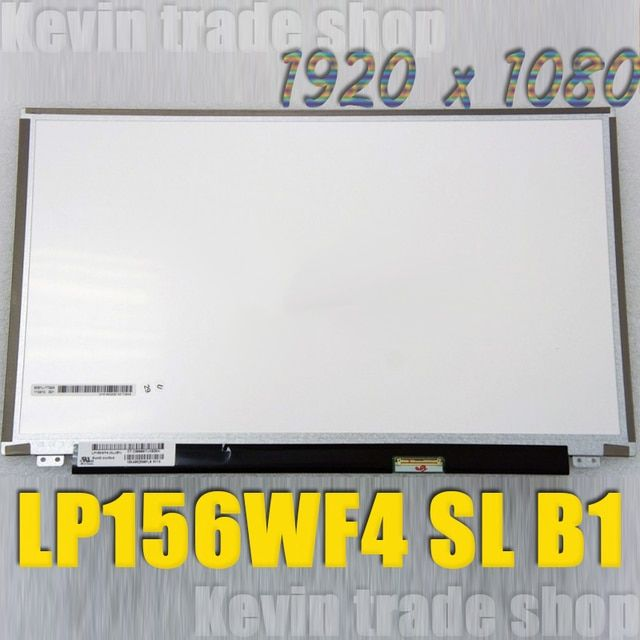 Original 15.6 IPS screen LP156WF4-SLB1 LP156WF4-SLBA laptop LCD led screen LP156WF4 SLB1 SLBA 1920*1080 40PIN Matrix display