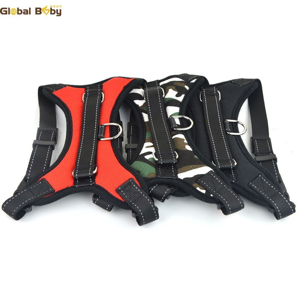 (20 Pieces/lot) Wholesale Comfortable O Styles Vest Nylon Dog Harness Pet Products Supplier