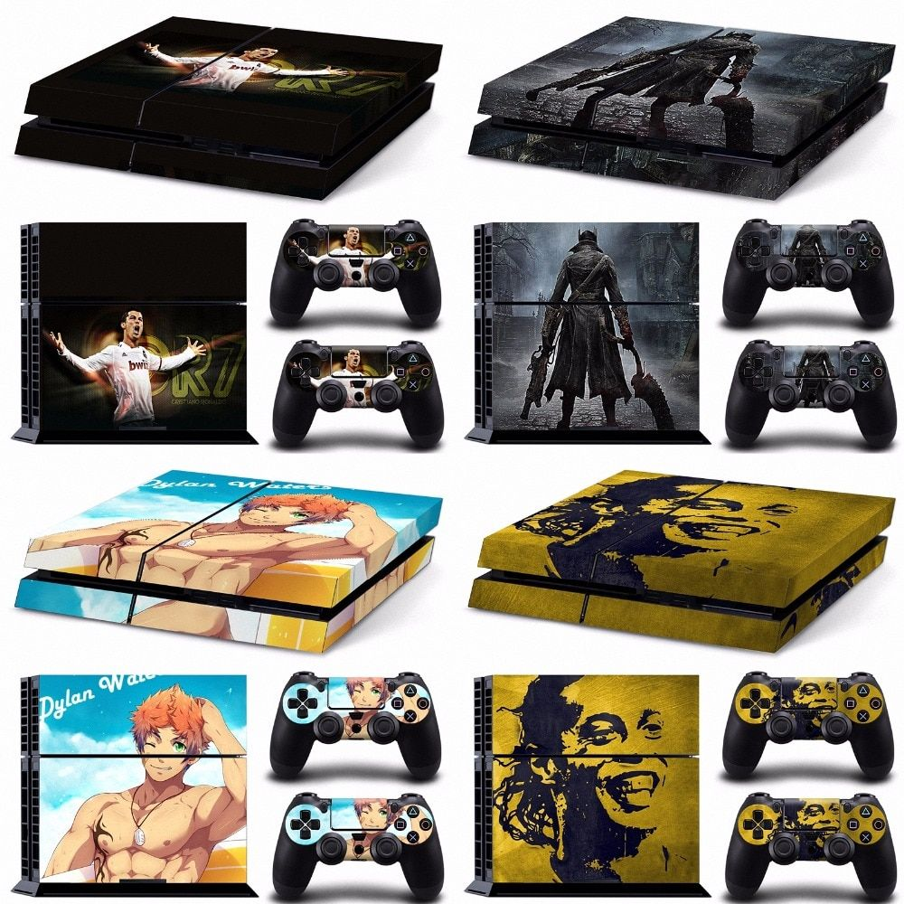 Black Ops 3 Papel De Parede Accesorios Ps4 Accessoire Milan Ac Play 4 Skin Sticker For Play Station 4 Ps4 Console And Controller