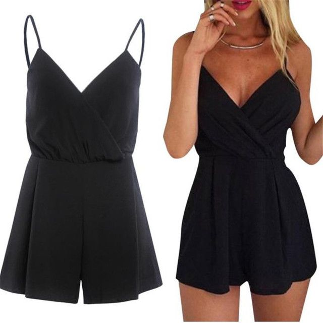 #2533 Women Sexy Playsuit Bodycon Party Jumpsuit Romper Trousers Clubwear D45