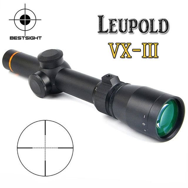 New  1.5-5X20 Optics Riflescope Hunting Scopes Mil-dot Illuminated Tactical Scopes Riflescope For Airsoft Air Rifles