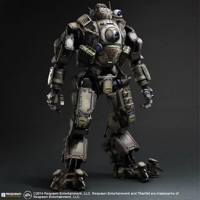 XINDUPLAN Play Arts Kai America PRG Game Titanfall Atlas Action Figure Toys Movable FPS 26cm Kids Gift Collection Model 0427