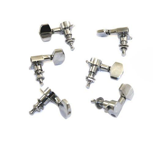 YOC-5* Sale New 6 pcs Chrome Guitar String Tuning Pegs Tuners Machine Heads