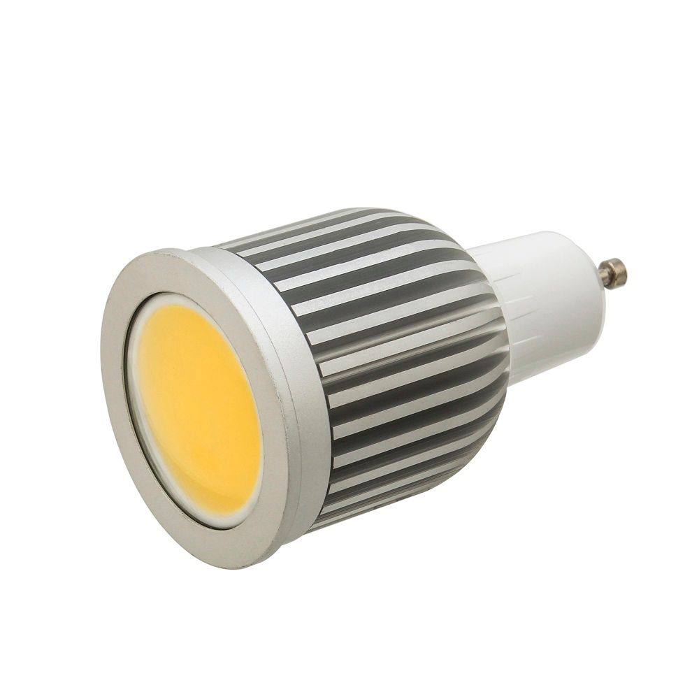 50pcs/lot GU10 MR16 E27 E14 7W High power COB led lights bulb lamp warm white/cool white led spotlights