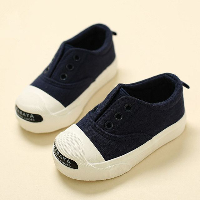 Children canvas shoes boys kids shoes baby shoes girls 2017 spring autumn cotton-made lounged kilen children shoes girls 6 color