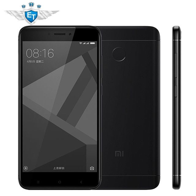 "Xiaomi Redmi 4X Pro 32GB Global ROM 3GB RAM Smartphone 5.0"" HD Qualcomm Snapdragon 435 Octa Core 4100mAh 13MP MIUI 8.2 OTA"
