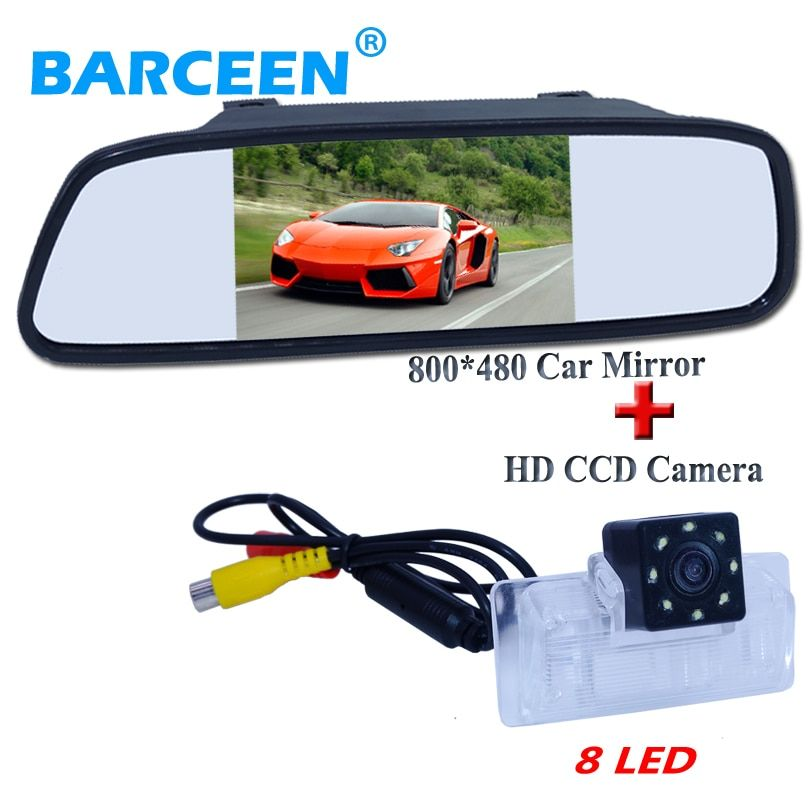 "HD CCD car parking camera with car  screen mirror 5""+8 led shockproof function adapt for Nissan Altima/TEANA/Sylphy"