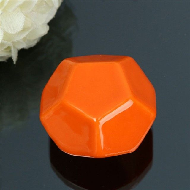 Cupboard Kitchen Pull Handle Vintage Dot Round Ceramics Drawer Knob Door Cabinet Home Furniture Hardware Handles Decoration