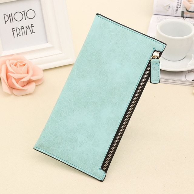 2017 New Long Style Letter Nubuck women wallets Female Lovely wallet card holder coin purse Holders